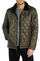 Tumi Transit Quilted Jacket Loden