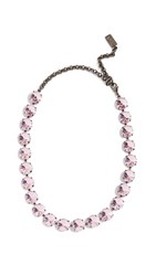 N 21 No. Strass Necklace Pink