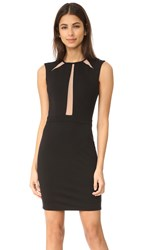 Ali And Jay Mini Dress With Mesh Insets Black