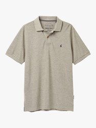 Joules Woody Classic Polo Shirt Grey Marl