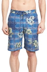Tommy Bahama Men's Big And Tall Baja House Of Plaid Board Shorts
