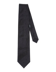 Jil Sander Ties Steel Grey
