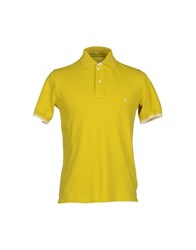Fay Topwear Polo Shirts Men Acid Green