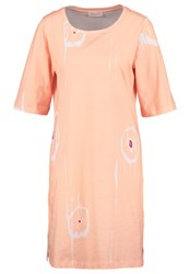 Stine Goya Edith Jersey Dress Apricot