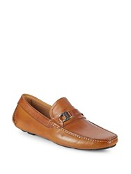 Saks Fifth Avenue Classic Leather Loafers Canela