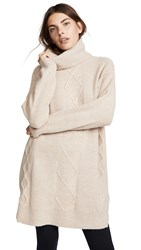 Minkpink Lesley Cable Knit Tunic Natural
