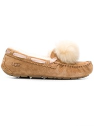 Ugg Australia Moccasin Slippers Brown