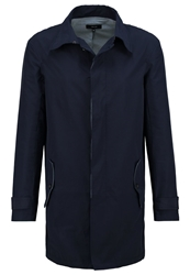 Villain Ferran Trenchcoat Navy Dark Blue