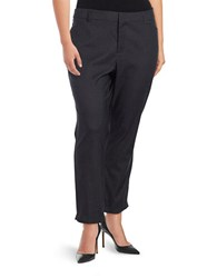 Lord And Taylor Plus Kelly Ankle Pants Blue