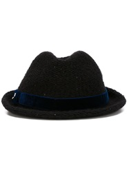 Jacob Cohen Trilby Hat Black