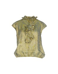 Blumarine Shirts Blouses Women Acid Green