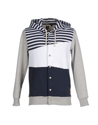 Shoeshine Topwear Sweatshirts Men White