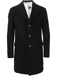 Hydrogen Single Breasted Coat Black