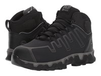 Timberland Powertrain Sport Mid Alloy Safety Toe Eh Black Ripstop Nylon Men's Industrial Shoes