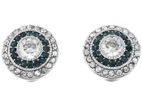 Lauren Ralph Lauren Vintage Crystal Stud Earrings Silver Crystal Earring