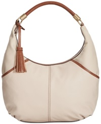 Tignanello Everyday Casual Leather Hobo Sand