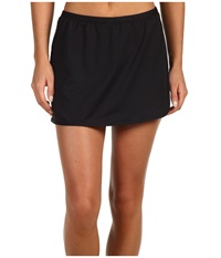 Tyr Solid Swim Skort Black Women's Swimwear