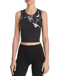 Nike Power Epic Lux Printed Cropped Tank Black