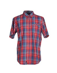 Lrg Shirts Shirts Men Red