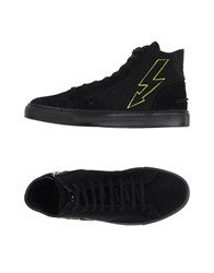Gienchi Footwear High Tops And Trainers Men Black