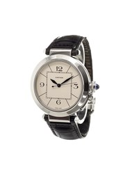 Cartier 'Pasha' Analog Watch Stainless Steel