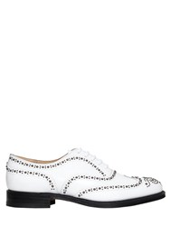 Church's Burwood Studded Leather Lace Up Shoes