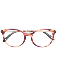 Tiffany And Co. 2159 Round Glasses Acetate Metal Pink Purple