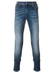 Vivienne Westwood Anglomania Stonewashed Slim Fit Jeans Blue