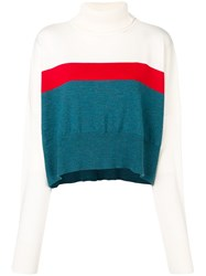 Marios Loose Fitted Sweater White