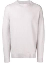 Laneus Crew Neck Jumper Grey