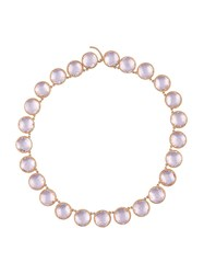 Larkspur And Hawk 'Olivia' Necklace Pink And Purple