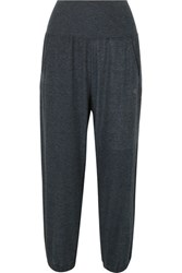 Lndr Cropped Stretch Jersey Track Pants Navy