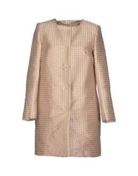 Michelle Windheuser Full Length Jackets Beige