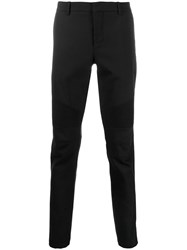 Balmain Straight Leg Trousers Black