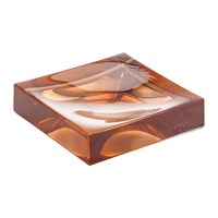 Kartell Square Soap Dish Nude Pink