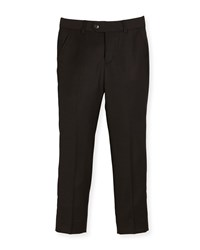 Appaman Slim Suit Pants Black Size 4 14