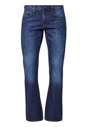 Mustang Oregon Bootcut Jeans Tinted Rinse Washed Blue Denim