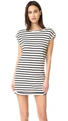 Knot Sisters Sailor Dress Off White Stripe