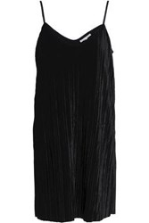 Tart Collections Corduroy Mini Slip Dress Black