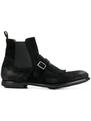 Church's Buckle Detail Ankle Boot Black
