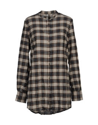2Nd Day Long Sleeve Shirts Dove Grey