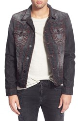 Men's True Religion Brand Jeans 'Jimmy' Western Denim Jacket