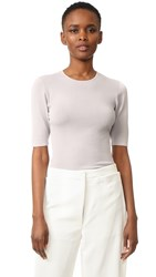 Dion Lee Knit Tee Dove