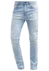 Kiomi Slim Fit Jeans Bleached Denim