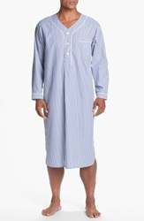 Majestic International Cotton Nightshirt Navy