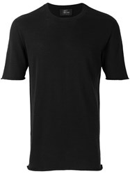 Lost And Found Ria Dunn Knitted T Shirt Black