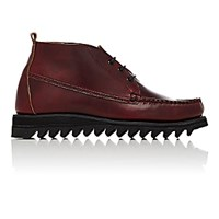 Barneys New York Men's Moc Toe Chukka Boots Burgundy Size 6 M
