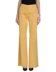 M Missoni Trousers Casual Trousers Women Ocher