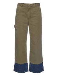 Rachel Comey Chino Low Rise Cotton Trousers