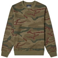 Fred Perry X Arktis Camo Sweat Green